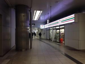 新大阪東口のセブンイレブン