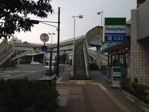 新大阪東口のファミリーマート
